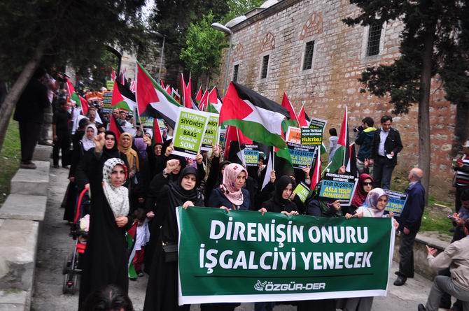 Filistinli Esirlerin Açlık Direnişine İstanbul'dan Selam!