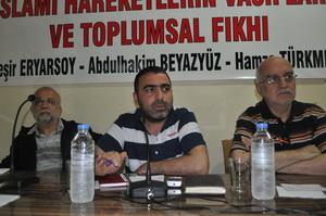 """Diyarbakırda """"İslami Hareketin Vasıfları"""" Paneli"""
