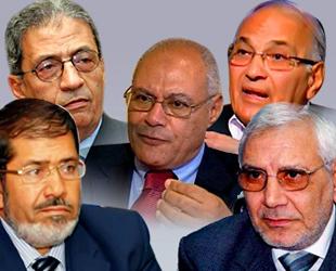 Mısırda Cumhurbaşkanı Adaylarının Profili