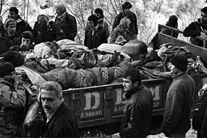 Muş'tan Uludere Katliamına Protesto