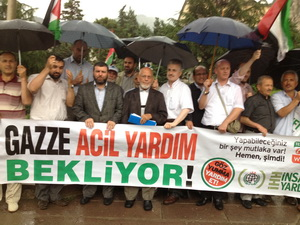 Amasya'da Mavi Marmara Şehitleri Anıldı