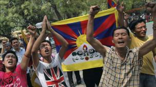 Çin Tibette Yüzlerce Kişi Gözaltına Aldı