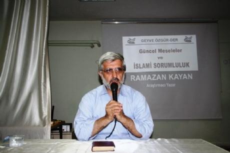 Geyve'de İslami Sorumluluklarımız Konferansı