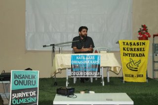 Eynesil'de Suriye İntifadası Gecesi