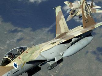 Siyonist İsrailden Gazzeye Hava Saldırısı