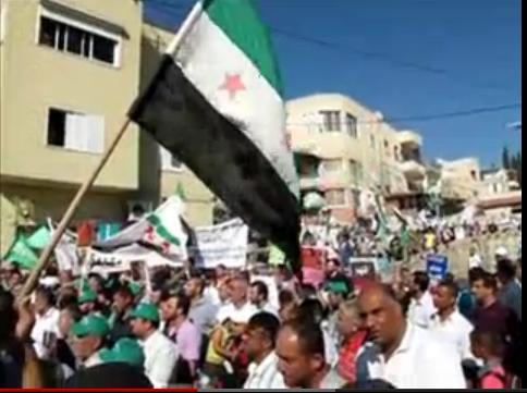 Suriye İntifadası, Filistin İntifadasının Devamıdır