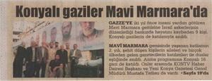 Konyalı Gaziler Mavi Marmarada