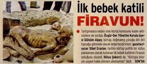İlk Bebek Katili Firavun