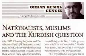 Nationalists, Muslims and the Kurdish question