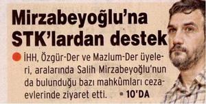Mirzabeyoğluna Stklardan Destek