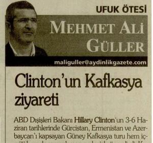 Clintonun Kafkasya Ziyareti