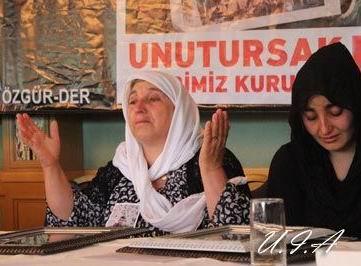 Uludereli Ailelerle İstanbulda Basın Toplantısı