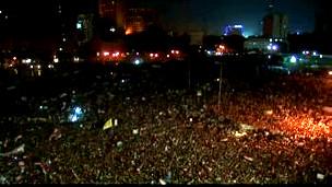 Tahrir, Askeri Cuntayı Protesto Ediyor!