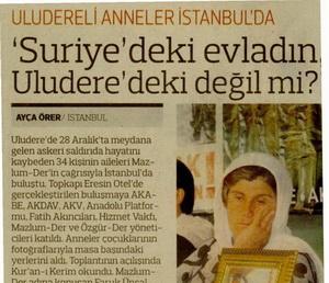 Uludereli Anneler İstanbulda