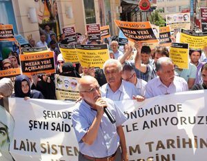 Özgür-Der: Devlet, Şeyh Said İçin Özür Dilesin!