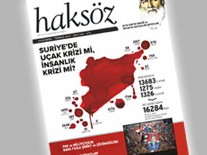 Haksöz Dergisinin Temmuz 2012 Sayısı Çıktı