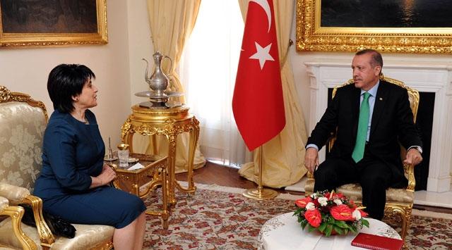 Başbakan Erdoğan, Leyla Zanayla Görüştü
