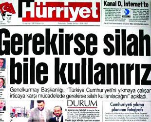 Hürriyet Gazetesinin 28 Şubat Korkusu