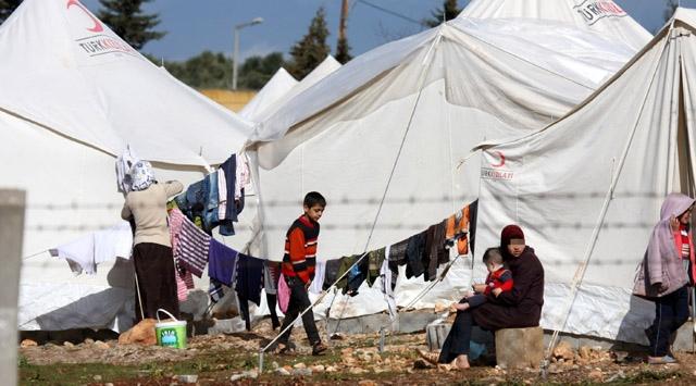 85i Asker 293 Suriyeli Daha Türkiyeye Sığındı