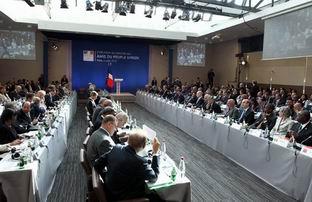 Suriye Dostları Toplantısında Alınan Kararlar