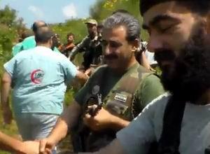 Doktorlar Suriyeli Direnişçilerin Yanında
