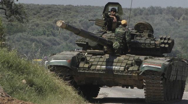 Baas Ordusu Lübnan Köylerini Bombaladı