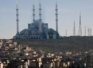 Çamlıca Camii İçin Ruhsat Çıktı