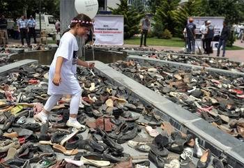 Srebrenitsada Ölüm Yolu Yürüyüşü Tamamlandı