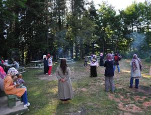 Bartındaki Liseli Bayanlar Kampı Sona Erdi