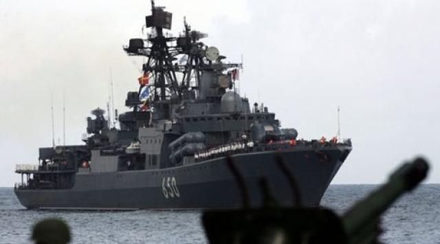 Rus Savaş Gemisi Boğazı Geçti