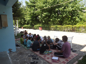 İzmirli Gençlerin Düzenlediği Kamp Sona Erdi