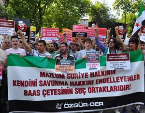 Tireymse Katliamı Fatih'te Protesto Edildi!