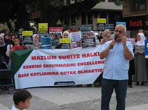 Hama Katliamı Bursa'da Tel'in Edildi