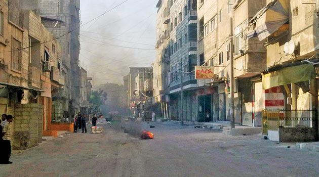 Şam, En Şiddetli Çatışmalara Sahne Oluyor