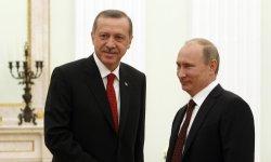 Erdoğan, Putinle Suriye Meselesini Konuşuyor