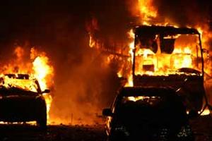 İsrailli Yolcu Taşıyan Otobüste Patlama