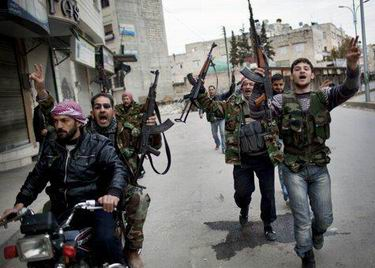 Suriyeli Direnişçilerden Yıpratıcı Eylemler