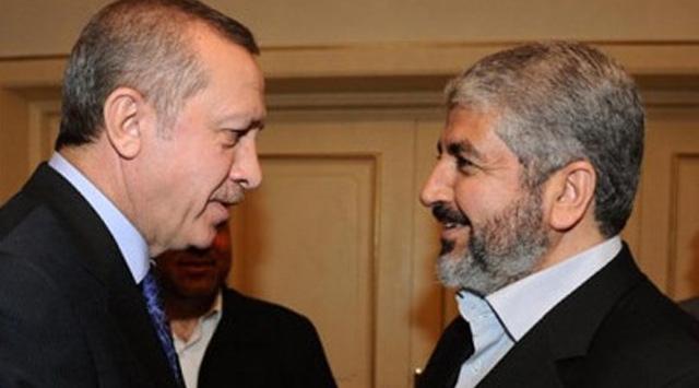 Türkiye'ye Gelen Meşal, Erdoğan İle Görüştü