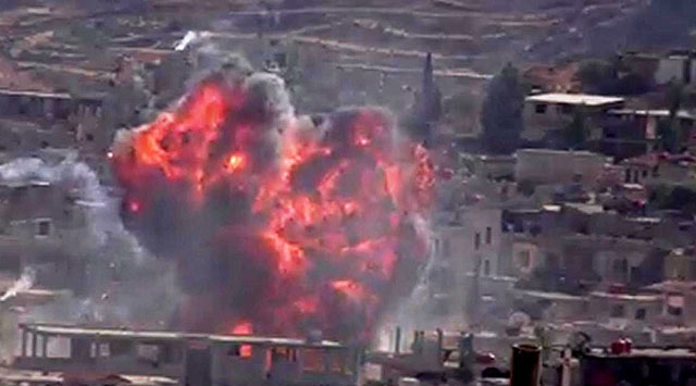 Perşembe Günü 165 Suriyeli Daha Katledildi