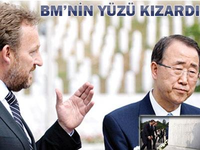 Ban Ki-Mun: Katliamı Seyrettik Özür Dileriz