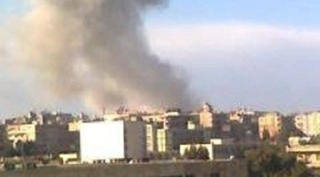 Esed, Halep'e Saldırı İçin Yığınak Yapıyor (Video)