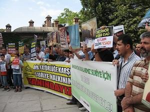 Bursada Arakan ve Suriye Katliamları Telin Edildi