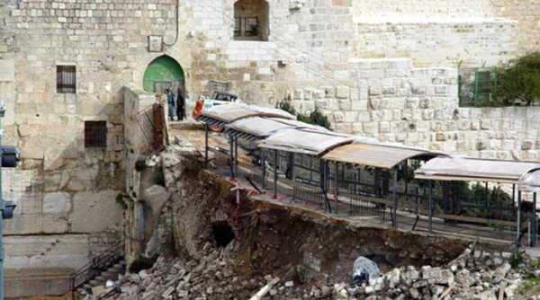 İsrail, Mescid-i Aksayı Yavaş Yavaş Yıkıyor