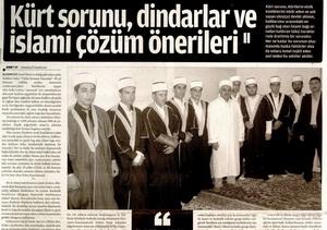 Kürt Sorunu Dindarlar ve İslami Çözüm Önerileri -2