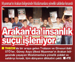 Arakan'da İnsanlık Suçu İşleniyor