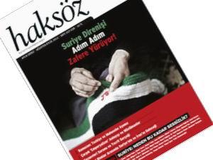 Haksöz Dergisinden Özel Suriye Sayısı