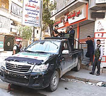 Özgür Suriye Ordusu Zafere Koşuyor