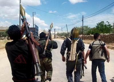 Suriyede Muhalifler Silah Üretimine Başladı