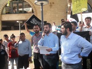 Şanlıurfa'da Suriye ve Arakan İçin Eylem (FOTO-VİDEO)