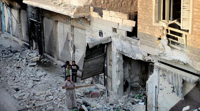 Katil Esed Halka Karşı Fosfor Bombası Kullanıyor